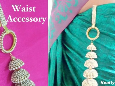 DIY | Convert your Long Bridal Jhumka into a Waist Accessory | Easy | Quick | Elegant | Multipurpose