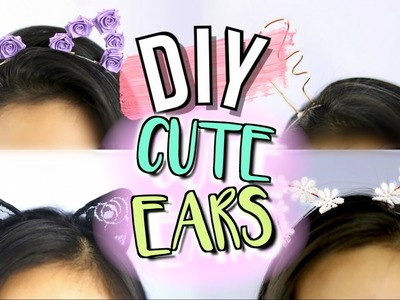 DIY Cute Headbands (Animal Ears) | JENerationDIY