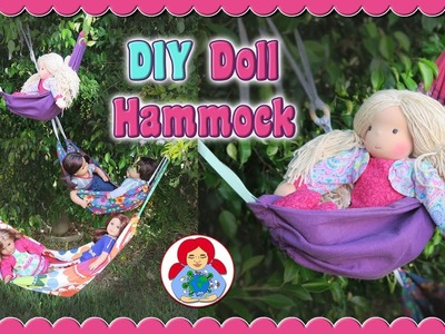 DIY | Doll Hammock + FREE Pattern!! • Sami Doll Tutorials