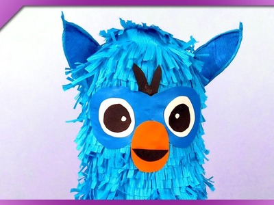 DIY Furby, plastic bottle toy (ENG Subtitles) - Speed up #298