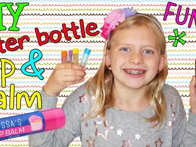 DIY Lip Balm & Cute Water Bottle