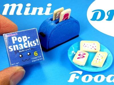DIY Miniature Pop-tarts - Doll Food