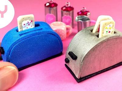 DIY Miniature Toaster - Dollhouse Crafts