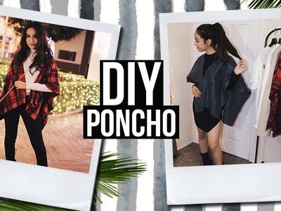 DIY Poncho! FAST & EASY!