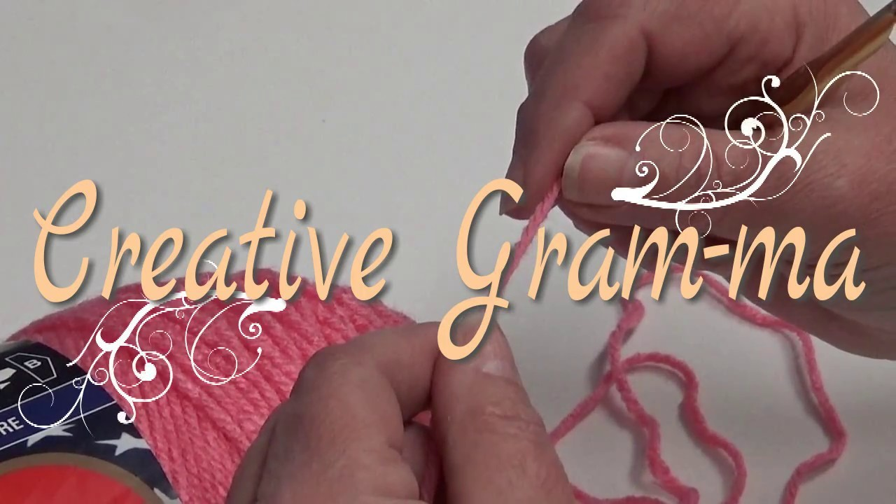 HOW TO CROCHET A CHAIN STITCH