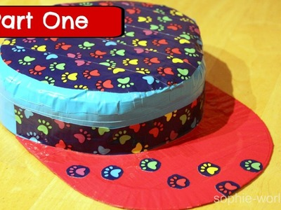 How to Make a Duct Tape Hat - Part 1 | Sophie's World