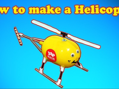 How to make a Helicopter (Electric Helicopter) HAPPY NEW YEARS ;)