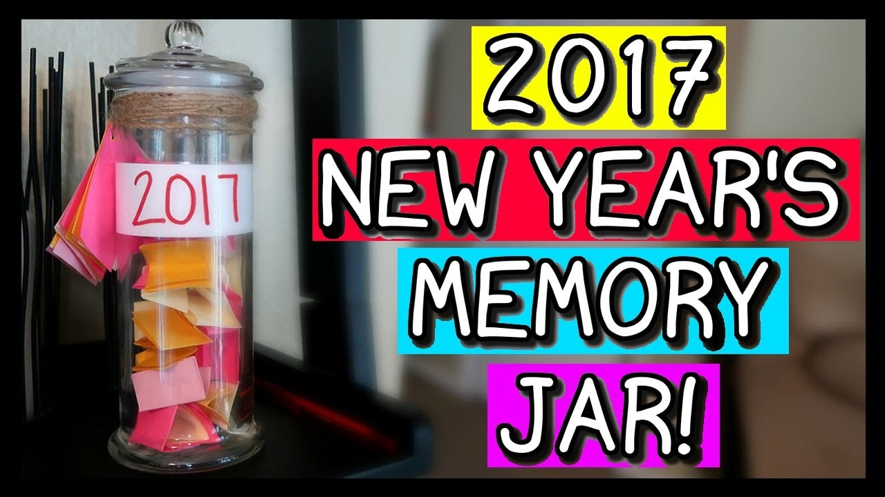 HOW TO MAKE A NEW YEAR'S MEMORY JAR! | EASY DIY!