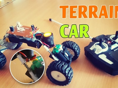 How to make a Remote Control Terrain Cars? (DIY)