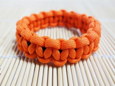 How to Make an Elastic Solomon Knot Paracord Bracelet Tutorial