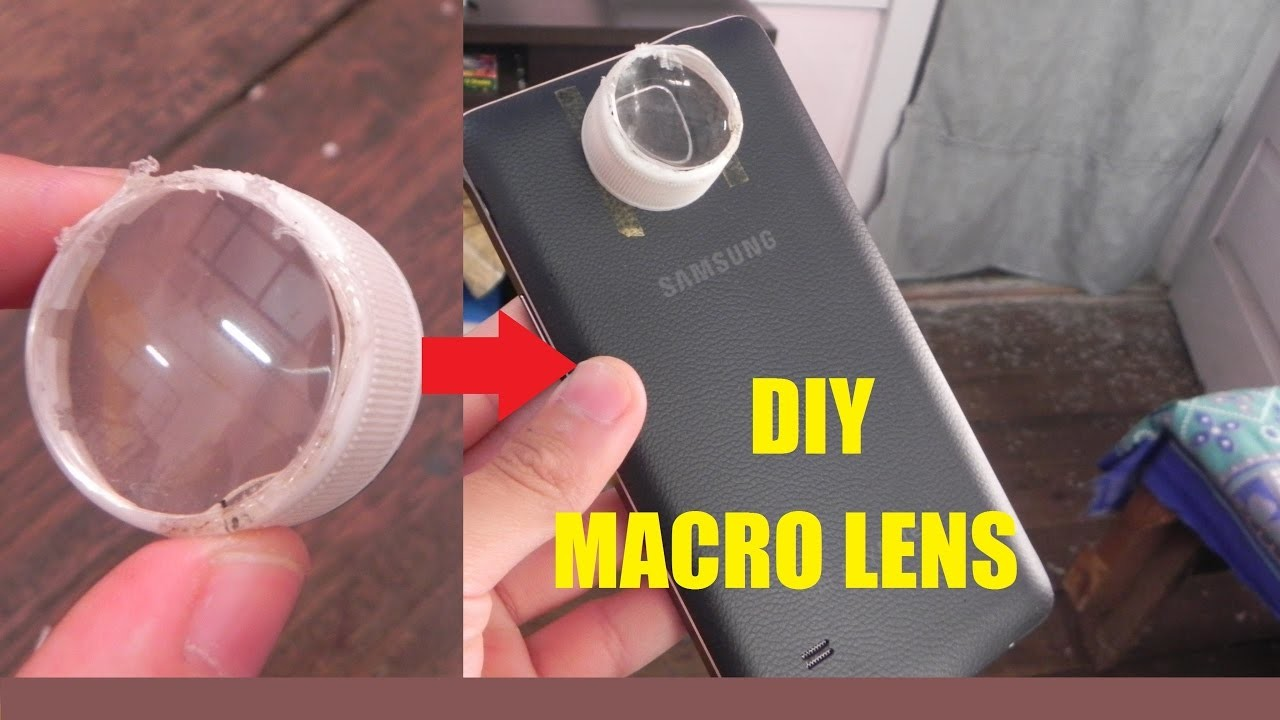 How to Make Macro Photography Lens for smartphone-DIY Tutorial