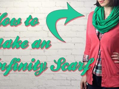 How to Sew an Infinity Scarf - DiY Fashion Tutorial