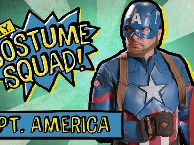 Make Your Own Captain America Costume - DIY Costume Squad