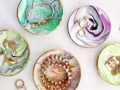 Marbled Ring Dish DIY