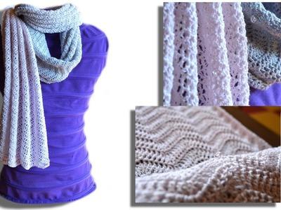 Passion scarf crochet pattern - Woolpedia®