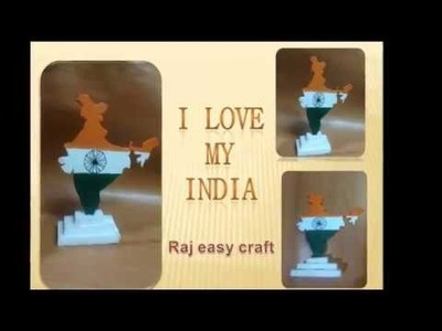 Republic Day special. I love my india craft