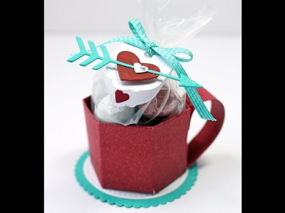 Stampin Up Love Notes How to make a Valentine Mini Mug