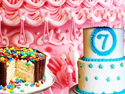 Cake Decorating - How to decorate a cake - CAKE DECORATION STEP BY STEP - FONDANT CAKE TUTORIAL   