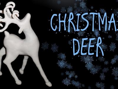 CHRISTMAS DEER - POLYMER CLAY TUTORIAL