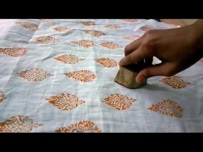 DIY BLOCK PAINTING | DEMO AT SHOPPING PARADISE JAIPUR | Indian artforms