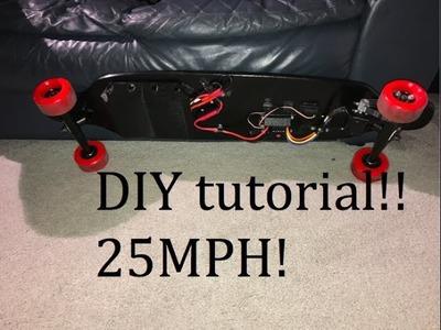 DIY electric skateboard - tutorial