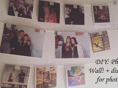DIY: Photo Wall! + discount for photos!
