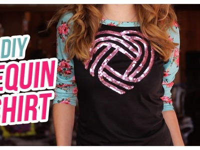 Do It, Gurl – DIY Sequin Sweater