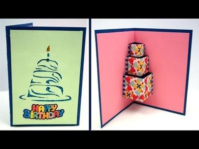 Easy DIY Birthday Card, How to make