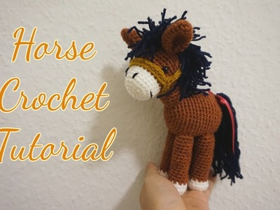 How to crochet  horse