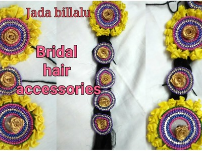 How to Make Bridal hair Accesccories.jada billalu