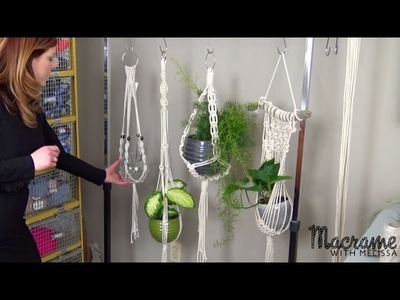 #1 of 4: How To Tutorial: Easy Macrame Plant Hanger for Beginners