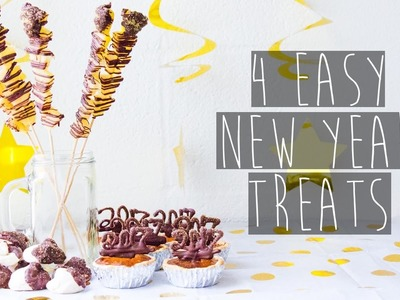 4 DIY Cheap and Simple New Years Snacks for Parties (2016-2017) | Eva Chung