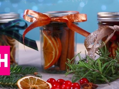 DIY Christmas Scents in a Jar | GH