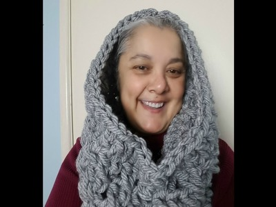 Easiest and Fastest Crochet Cowl
