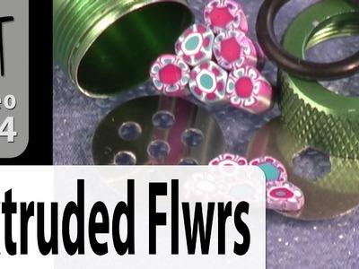 Extruder Flower Cane Polymer Clay Tutorial (Intro Vol-019-1)