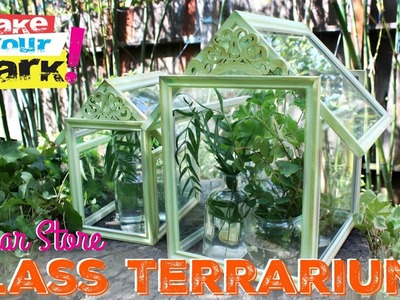 How to: Dollar Store Glass Terrarium