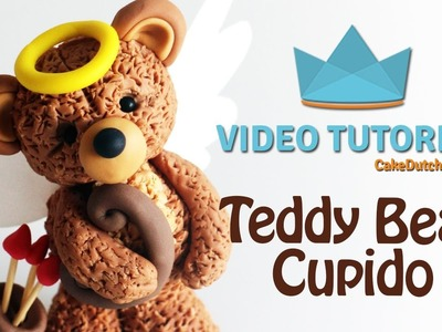 How to make an adorable Teddy bear Cupid - Cake Decorating Tutorial