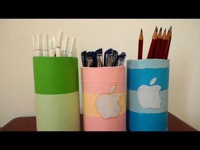 How to make an easy pencil holder
