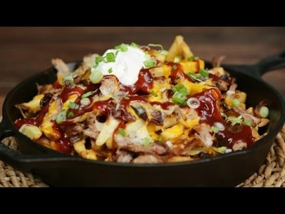 How to make bbq pulled pork fries, best coleslaw for pulled pork, pulled pork fries, pulled meat