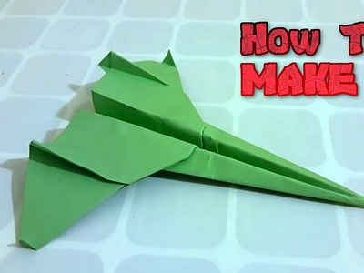 How To Make Cool Paper Plane #28