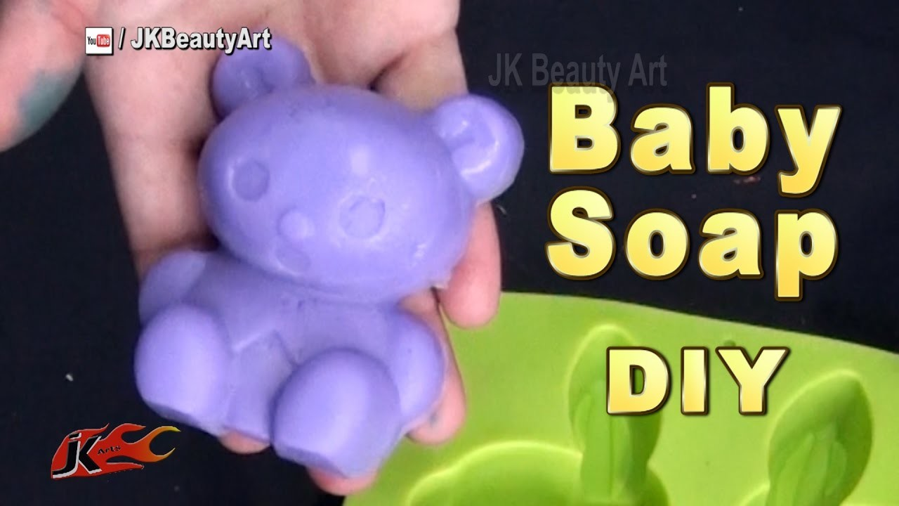 How to make homemade Baby soap | Baby soap making recipe | JK Beauty Art 052