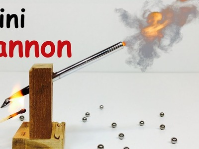 How to Make MINI CANNON at Home | DIY Weapon