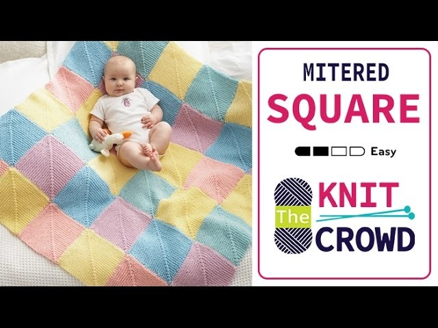 Let's Knit: How to Knit a Miter Square