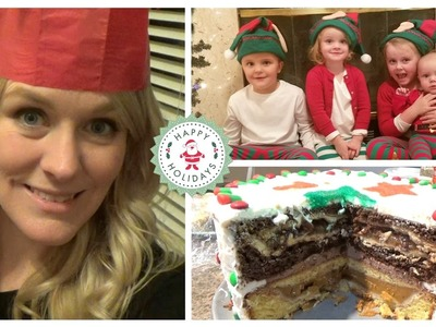 PIE STUFFED CAKE?! || Christmas Day with the Family