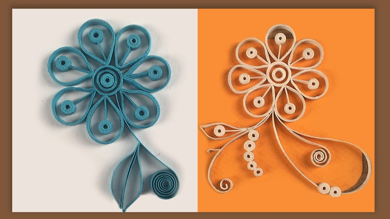 how to make quilling designs