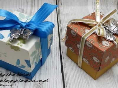 Tiny Reinforced Gift box ideal for Jewelry