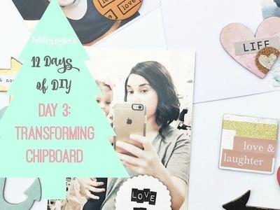 12 Days of DIY: Transforming chipboard