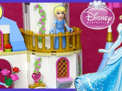 Cinderella's Romantic Castle LEGO Disney Build Review Play - Kids Toys