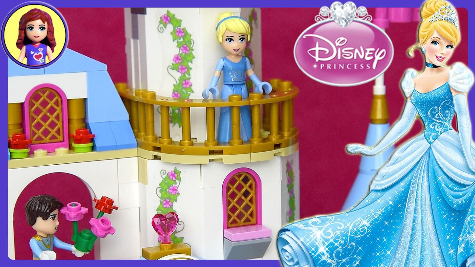 Cinderella's Romantic Castle LEGO Disney Build Review Play - Kids Toys