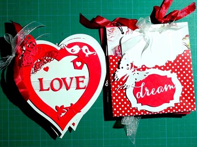 Cute Scrapbook for Valentine's Day | The Sucrafts